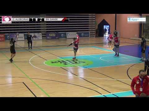 El Balonmano Ciudad de Algeciras cae en casa contra el BM Sanse en un discreto partido de los locales