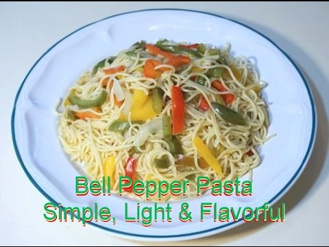 Bell Peppers Pasta