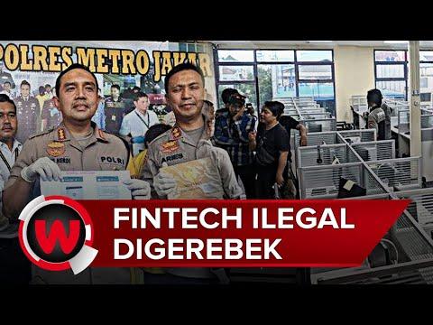 Video Detik Detik Penggrebekan Kantor Pinjaman Online Ilegal Di