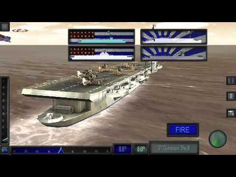 Pacific Fleet gameplay