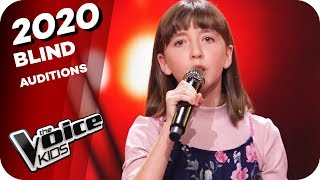 Frank Sinatra - Cheek To Cheek (Elin) | The Voice Kids 2020 | Blind Auditions