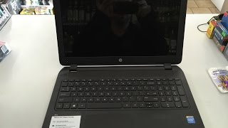 Hp pavilion 15 led screen power jack dc repair replacement fix how to Walmart laptop Hewitt Packard