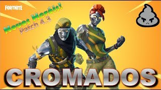 New heroes! Jonesy forged and Ramirez chrome Patch 4.3 Fortnite Save the World