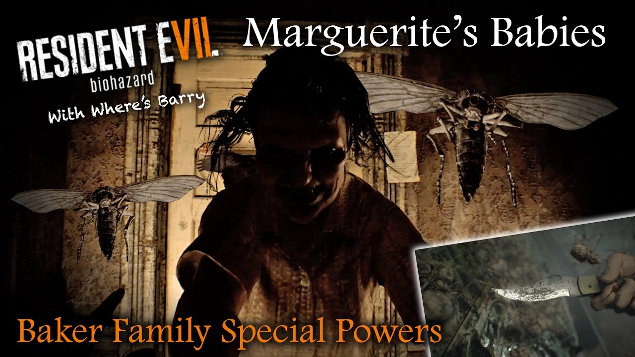 Resident Evil 7 Baker Family Special Powers Theory