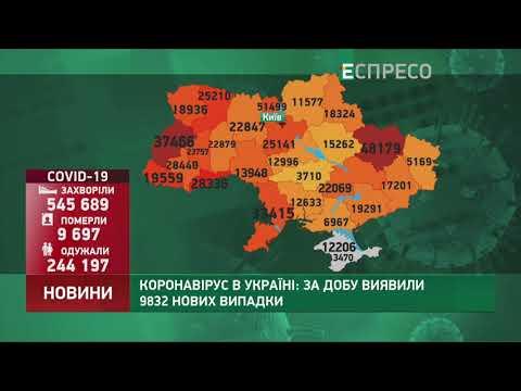 Коронавирус в Украине: статистика за 16 ноября