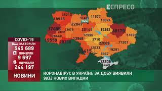 Коронавірус в Украі ні статистика за 16 листопада