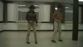 Monterey Mama Linedance performed by Peggy and Udo (Lern- und Tanzvideo)