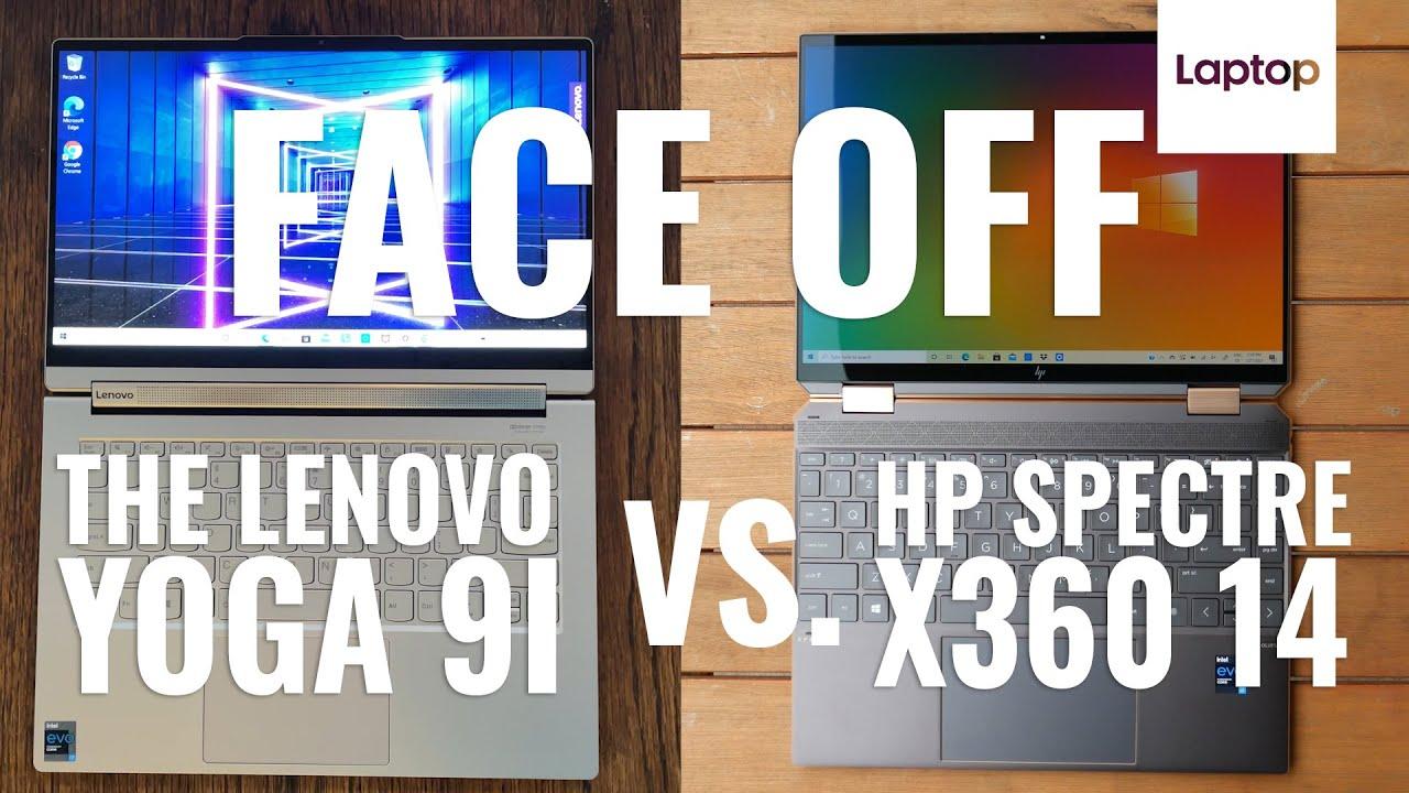 HP Spectre x360 14 vs. Lenovo Yoga 9i: Face-off!