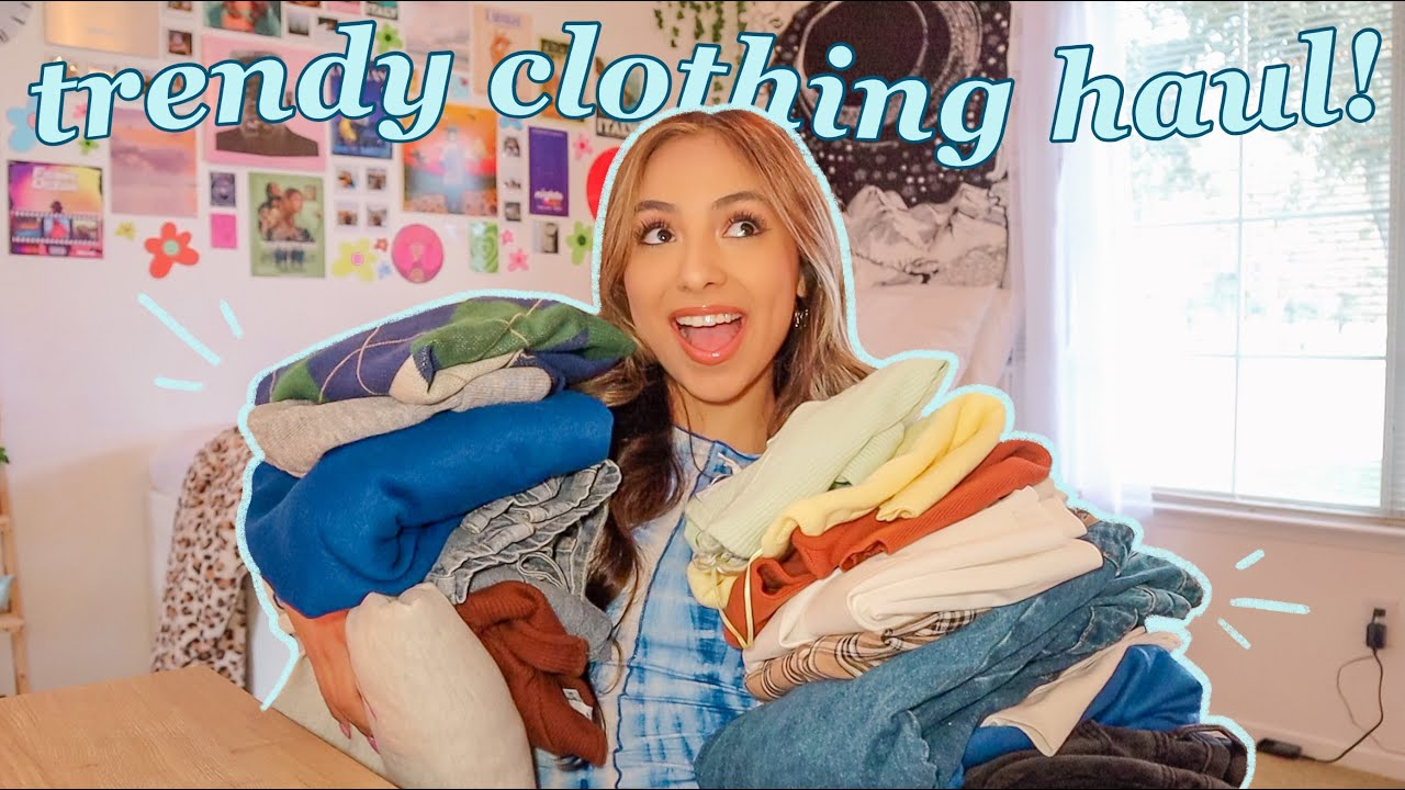 TRENDY TRY-ON CLOTHING HAUL 2021!!
