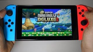New Super Mario Bros. U Deluxe - Nintendo Switch gameplay