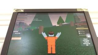 Redwood prison on roblox