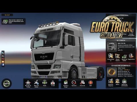 Euro Truck Simulator 2, MAN TGX XXL, Tomates para Birmingham