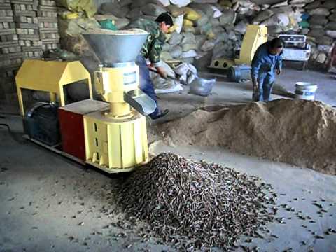 small wood pellet mill