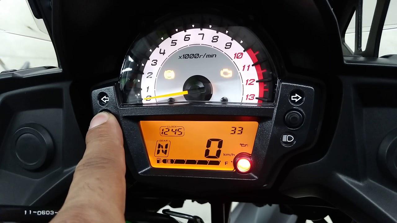 Diagnostic Kawasaki Versys 650 KLE on