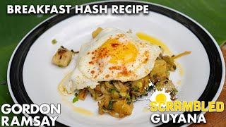 Gordon Ramsay Cooks A Breakfast Hash On The Edge Of The Amazon Jungle | Scrambled