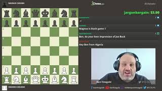 Caruana-Carlsen: 2018 World Chess Championship: Game 1
