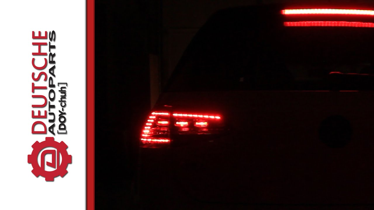 Mk7 Gti Euro Led Tail Lights How They Operating With No Wiring Or Coding You