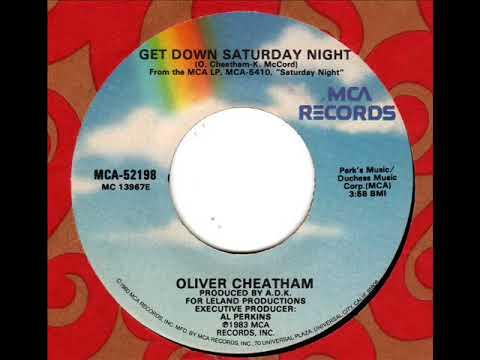 Oliver Cheatham Get Down Saturday Night Youtube
