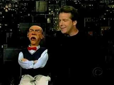 Jeff Dunham and Walter on Letterman
