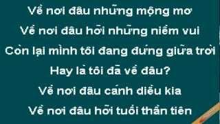 Dong Thoi Gian Karaoke - Doan Phi - CaoCuongPro