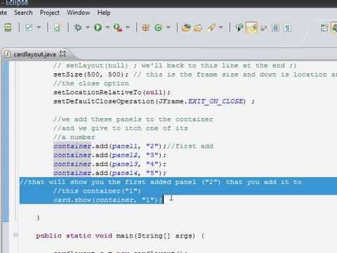 Java Tutorial (How to create a dinamically changing