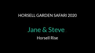 Jane and Steve  - Horsell Rise