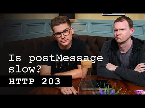 Is PostMessage Slow? - HTTP 203