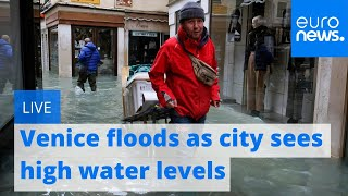 Venice floods as city sees exceptionally high water levels | Live