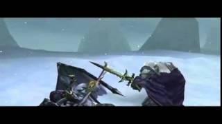 Warcraft III Битва у Ледяного трона – Артас против Иллидана.