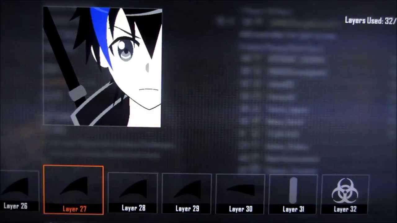 Sword art online kirito emblem youtube biocorpaavc