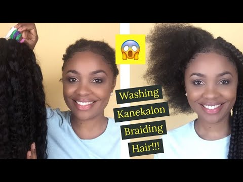 TAKING OUT MY BOX BRAIDS // WASHING BRAIDING HAIR FOR RE-USE