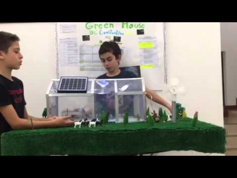 Solar house science project
