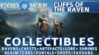 God of War - Cliffs of the Raven All Collectible Locations (Ravens, Chests, Artefacts, Shrines)