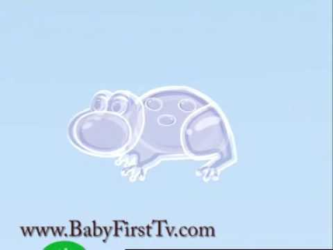 Apple and Frogs  Learning Cartoons for Babies  Bloop and Loop  BabyFirst TV