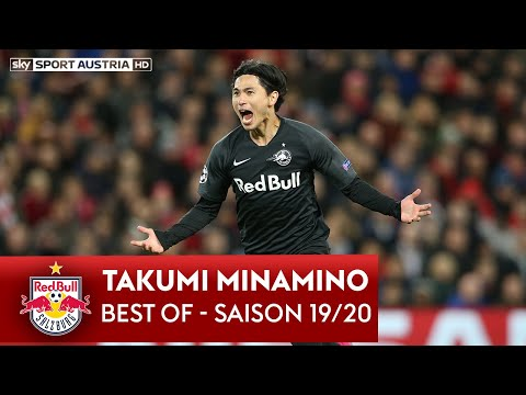 Best Of Takumi Minamino 2019/20 | Goals & Assists