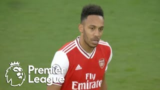 Pierre-Emerick Aubameyang fires Arsenal in front of Everton | Premier League | NBC Sports