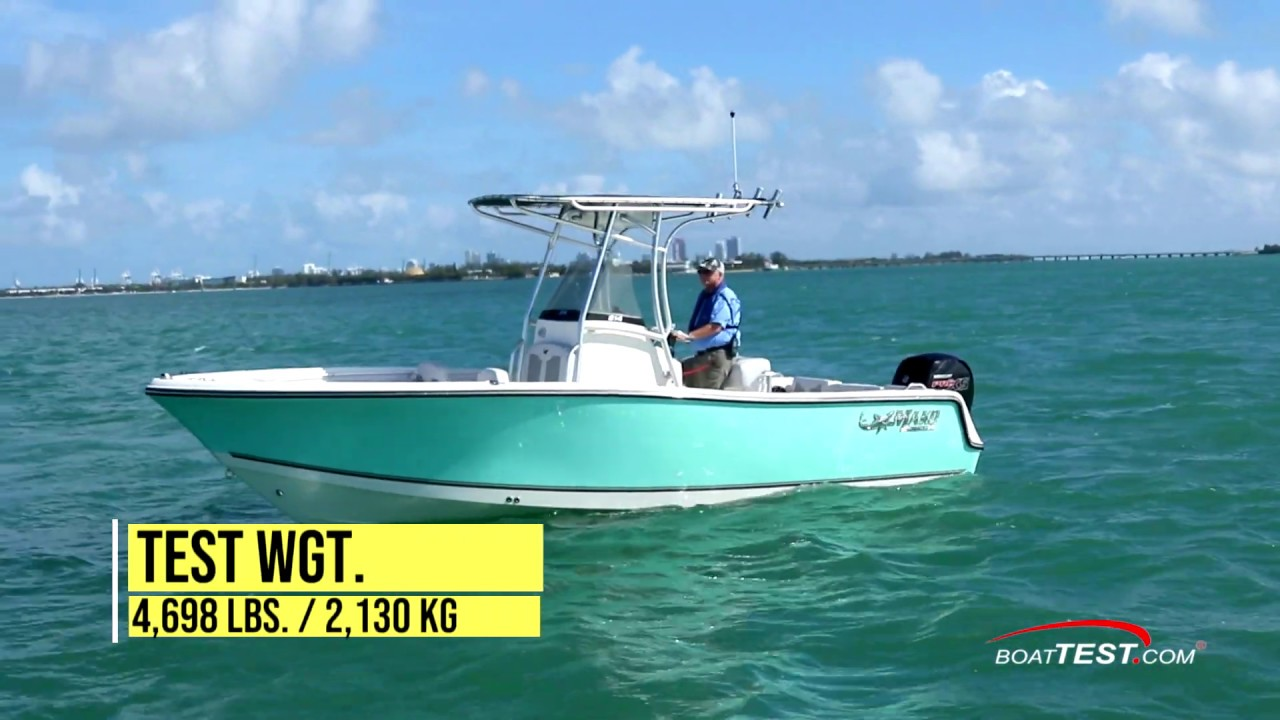 MAKO Boats: 214 CC Complete Review by BoatTest.com
