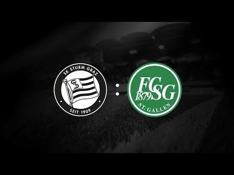 Spielaufzeichnung: Sturm Graz 1:1 St. Gallen (1:0)