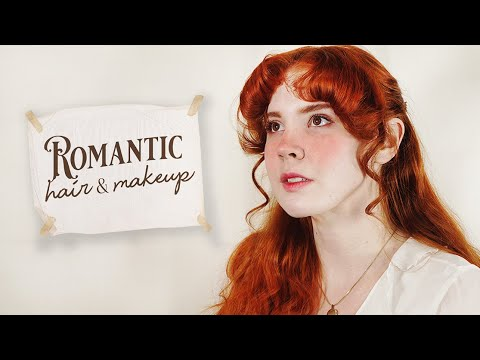 Romantic Hair & Makeup || Pre-Raphaelite Inspired