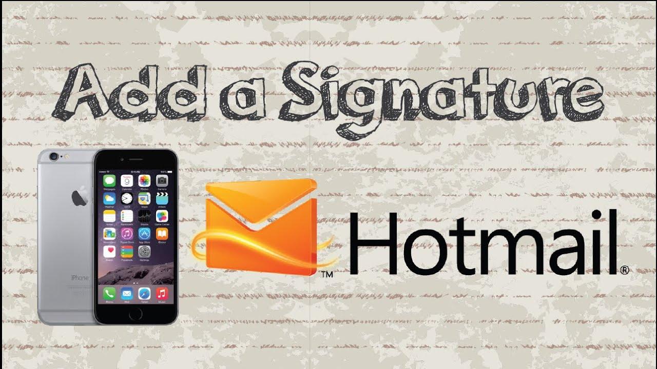 add signature to pdf iphone