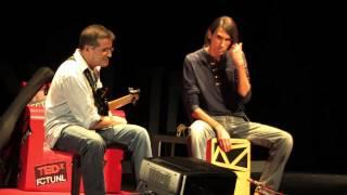 Percurso da vida através da música: Beto Betuk & Armindo Neves at TEDxFCTUNL 2013