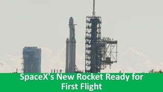 Learn English with VOA News - SpaceX's New Rocket Ready for First Flight