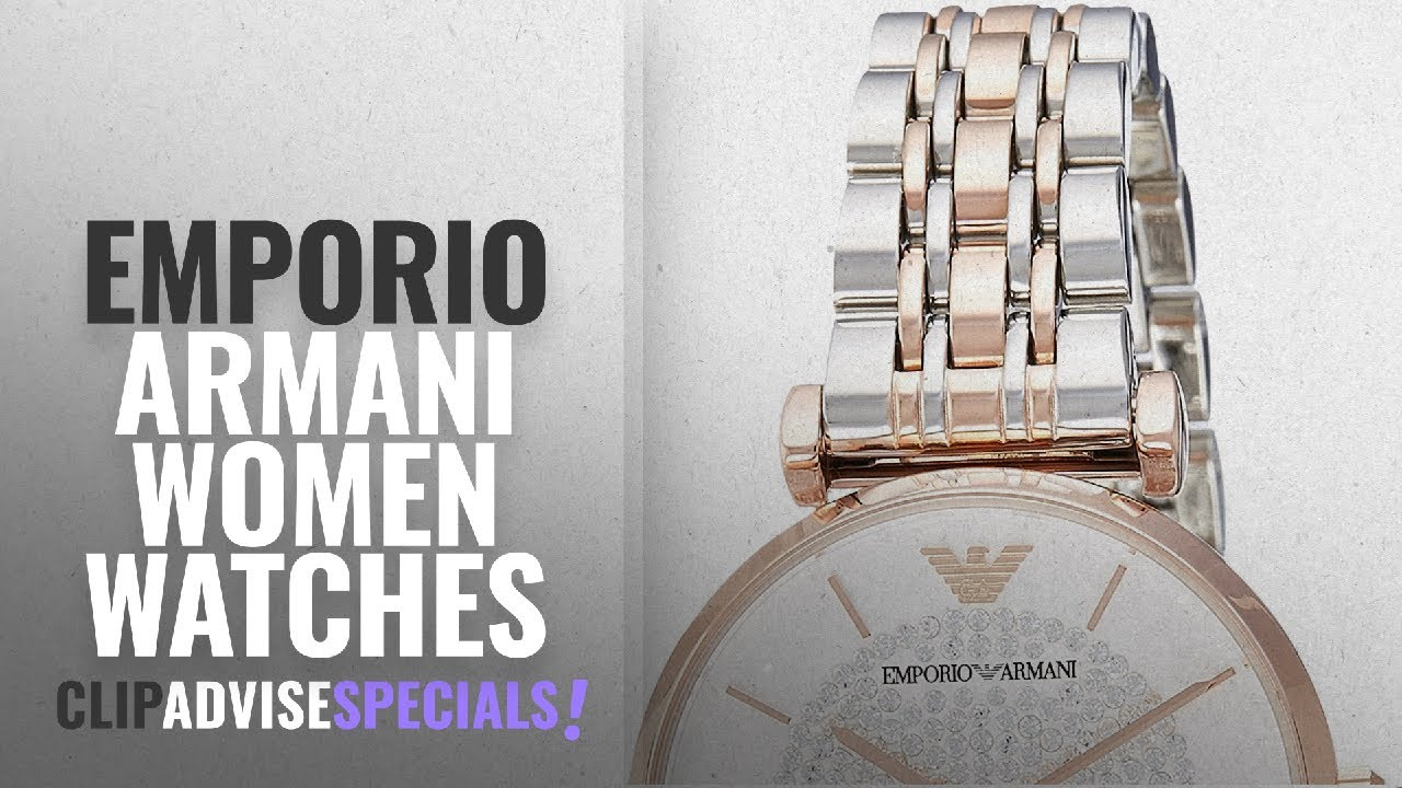 fda14d36e183 10 Best Selling Emporio Armani Women Watches  2018    Emporio Armani ...