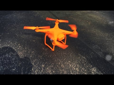 Custom DJI Phantom. GONE WRONG. DO NOT SPRAY PAINT YOUR DRONE!!