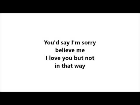 Sam Smith-Not In That Way/Can't Help Falling In Love Lyrics