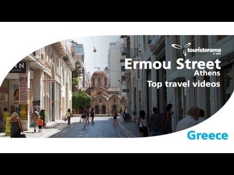 Ermou Street Athens Greece