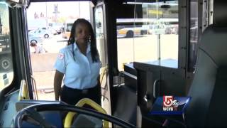 "MBTA testing special ""shield"" to protect drivers from attacks"