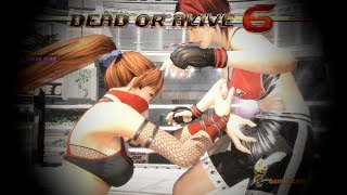 DEAD OR ALIVE 6 | ALL BREAK BLOWS AND BREAK HOLDS IN SLOW MO AND REVERSE (4K UHD 2080 TI)