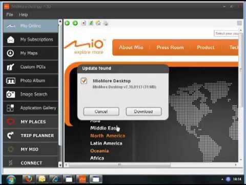 mio moov s305 software