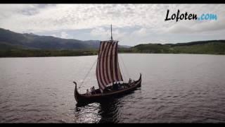 Vikingship at Lofotr Vikingmuseum
